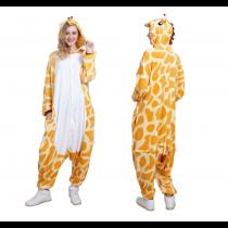 Animal Onesie Animal Pajamas Halloween costumes Adult Giraffe  sc 1 st  UBuyDirect.Net & Costumes